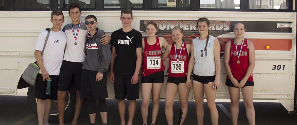 Provincial Track & Field competitors
