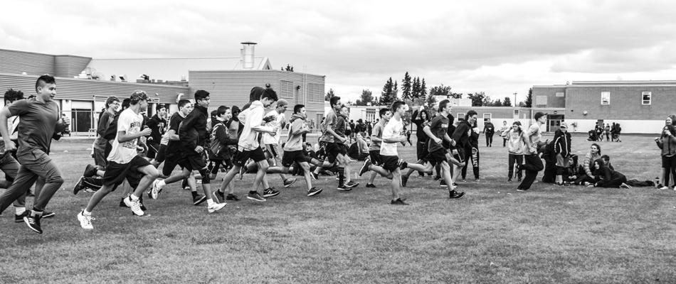 RF Junior High Cross Country run
