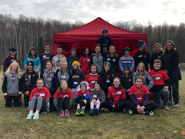 Cross country zones in Athabasca Oct. 9