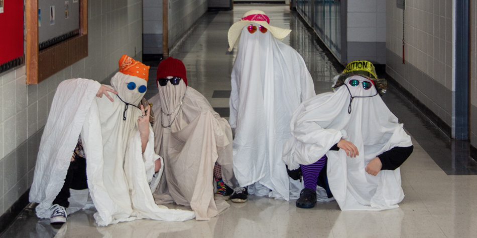 Spooky spirits in the halls at RF